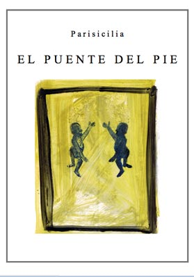 Painting Extract from the Cycle of poems « El puente del pie – La copa »